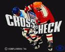 Crosscheck Eishockey Action