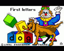 First Letters For Under 5s