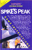 Playing: Spike's Peak