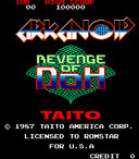 Viewing Leaders: Arkanoid: Revenge of DOH