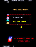 Playing: Ms Pac Man Fast