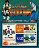 Playing: Samurai Shodown