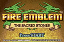 Playing: Fire Emblem - The Sacred Stones