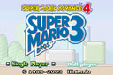 Playing: Super Mario Advance 4 - Super Mario Bros. 3