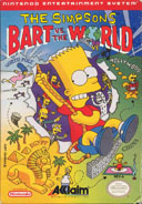 Playing: Simpsons: Bart vs The World