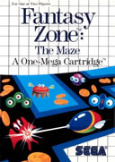 Playing: Fantasy Zone: The Maze